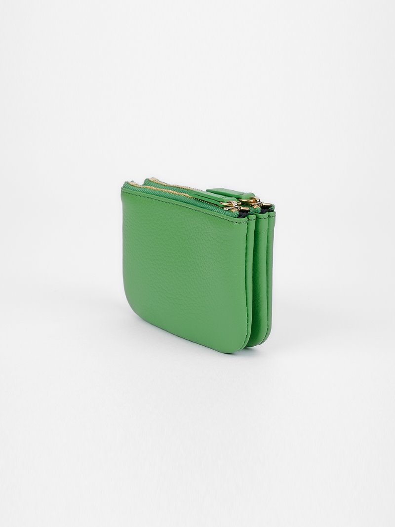 WALLET-DOUBLE-APPLEGREEN [LESAC]